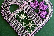 Renda de bilros/ Bobbin lace / by Maria Zaida Estrela