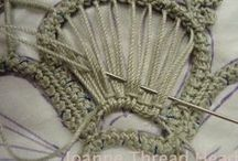 Romanian point lace / by Maria Zaida Estrela