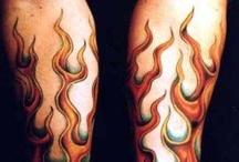 Tattoos - Fire ☠ / by Tattoo Harley Mamma