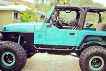 Jeep wranglers.  / by Micayla Annmarie