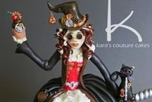 Steampunk & Gothic Cakes Ideas / by Dynamite Cakes