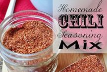 {Recipes} Sauces, Seasonings, Condiments, etc. / by Samantha @ Five Heart Home