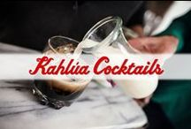 Cocktails by Kahlua / Inspirations for delicious Kahlua cocktail recipes that are perfect for any occasion! / by Kahlua