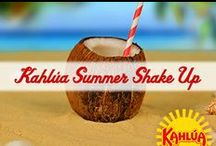 Kahlua Summer Shake Up / It is Kahlúa Summer Shake Up time!  The warm weather, and longer days, inspire us to shake up our normal routines. Find a reason to entertain, make fun cocktails any time of day or night, try a new activity with friends or family, and throw more color into your usual wardrobe!  Shake it up!  / by Kahlua