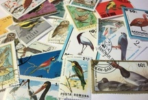 Postage Stamps / Miniature works of art and a childhood hobby that just keeps threatening to come back to life.  / by MyFinestHour