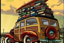 Vintage Travel Posters / by Bruce Bondy