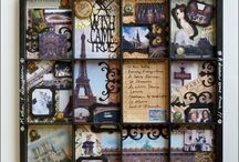 Printer trays / Scrapbooking / by Sandy Willig