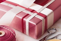 gift wrapping ideas / by Jenny Stern