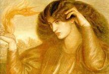 Dante Gabriel Rossetti  (1828-1882) / by mina bakgraag