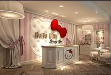 Hello Kitty & Friends / Collection of Hello Kitty & Friends Products, Birthdays, Parties, Ideas, Toys, Kids, Bags, Accessories, Luggage, Clothing, Jewelry. Swarovski, Everything from Hello Kitty... / by Martin Lepage