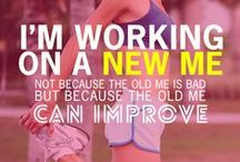 Exercises & Motivation / Tips on exercises and some motivation to help get  motivated.  / by Athena Torres
