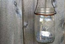 I ♥ Mason Jars (...and bottles, and tins, and vases)... / by Katerina Syntelis