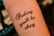 Tattoos and Piercings I Want / by Amber Reed