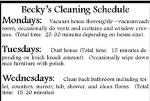 *For The Cleaning Fairy* / by Tiffany Bohnert