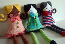crochet toys / some really great patterns / by Jeanette Muller-Delia