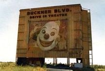 OLD DRIVE IN THEATERS / by Snooks Thomas