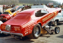 VINTAGE FUNNY CARS / by Snooks Thomas