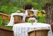 Lace Tablecloth Ideas / by Celia Rachel