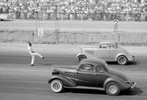 GOOD OLD DAYS AT THE DRAGS / by Snooks Thomas