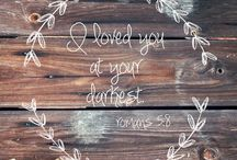 Bible Verses+quotes / by Emma Sentell