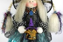 Little Souls Dolls / Unique handmade whimsical dolls that are like dressed up kids with lots of beautiful fabrics, vintage accents and real kids shoes.   / by Arts&Souls