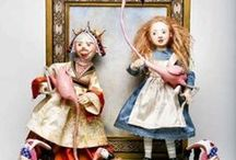 Friedericy Figurative Art Dolls / Beautiful handmade porcelain dolls from award winning artists Lucia and Judith Friedericy. / by Arts&Souls