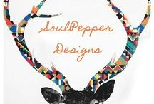 SoulPepper Designs / by Haley Way