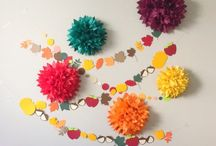 """~Pom Flowers~Pom Crafts~ / Pom-Poms are taking over the world...like """"TRIBBLES!"""" So cute! / by Tammy Maria Settles"""