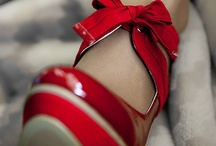 red shoes / by Aoife Siobhan