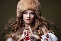 Slavic Folk - Old World and New / Slavic and other Euro Folk old world traditions, modern inspirations / by Nanusia Wolowski