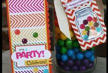 Kindergeburtstag mit Stampin' Up! / Kinder machen große Augen, wenn sie vor ihrem Geburtstagstisch stehen. Da ist es doch die größte Freude, die Kinder-Party mit Stampin' Up! bunt und spaßig zu gestalten.  / by Stampin' Up! Deutschland / Österreich