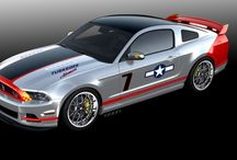 Ford mustang through the years / by Angel Borrero