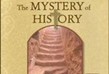 Mystery of History 1 / The Mystery of History, Volume 1 or I: Creation to the Resurrection by Linda Hobar homeschool textbook teaching ideas / by Christina B