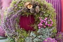 Wreaths for all Seasons / ........wreaths for your home / by Kathleen