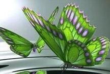 butterfly's/Fairies en vlinders / by Giny Bakker