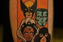 Comic Booked Tattoos / Comic and geek related tattoos that rule. Good times at Comic Booked.com! / by Comic Booked.com