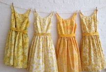 Yellow / by Hellie Connors