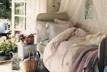 apartment / shabby chic bedroom / by meg ellie