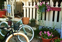 """Garden bikes, bicycles and scooters / Welcome! You've just found one of the finest and largest collections of Garden/Flower related Bikes, Bicycles & Scooters on-line!  Our photos come from ParadeOfGardens.com, garden lovers everywhere and the best of Pinterest pinners like you! This collection of photos grows most every day and we welcome you to """"Pin away"""" those that inspire you!  Please follow us as you'll always find some of the greatest and often most unique garden photos here first!  Enjoy our Parade Of Gardens! / by Parade Of Gardens.com"""