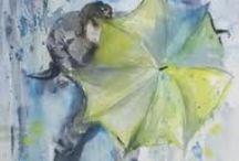 Umbrellas 3 / by Cheryl Ponce