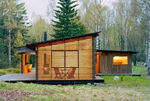 House Ideas / Small Houses, Cabins, Outbuildings, Comfortable Rooms, Modern Rustic, Woodsy, Cool Spaces, Outdoor Living / by Owen Schultz