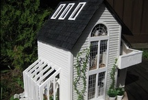 Dollhouse Ideas / I am going to try to arrange houses to include decor & mini's to save a lot of searching. You may find something that you would use elsewhere. Bear with me. / by Cathy Feister