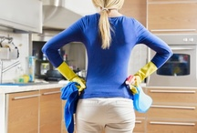 cleaning and organizing / by brenda