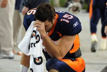 TIM TEBOW ~ Denver misses you / Denver BRONCHO  We will always love you and miss you. I still have a signed football on my dresser :)) / by Annie
