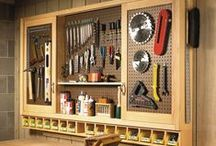 Wood Workshop / Wood workshop organization, special tools, clever products, etc. / by M Web