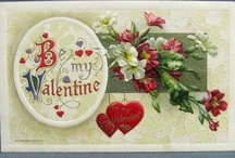 Valentines Day Postcards / by For The Love Of Postcards