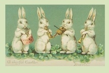Easter Postcards / by For The Love Of Postcards