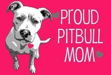 For the L❤️VE of pitbulls! / Adorable, loving pittie pups! / by Kim Mcgrady