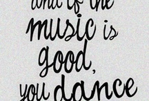 My Favorite Music, Songs and ~~Dancing~~ / >> click to:   Enjoy ~ View ~ Dance ~ Listen / by edna ann royeton