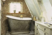 Bathroom Ideas / Ideas for my rustic bathrooms in France and bathrooms at home. / by Kathleen C. Perrin